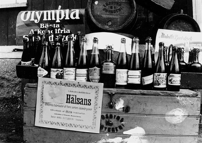 Bryggeriprodukter, Edsbyn 1920-talet.