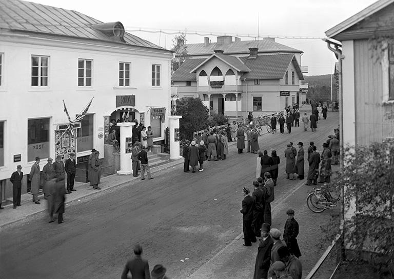 Storfilmen Borta med vinden har premiär 1942. Foto: Stig Elvén.